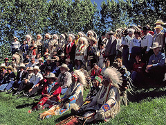 19960704-0804ac Natives Nations Chiefs and Calgary Personnalities