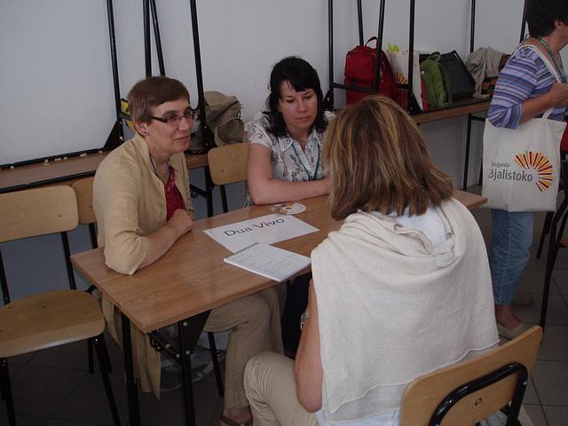 Bjalistoko 2009 - Dum prezentado de Dua Vivo Programo en la kadro de Edukado.net