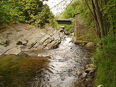 Le moulin Chittenden / Chittenden mills -  Jericho. Vermont . USA.  23-05-2009