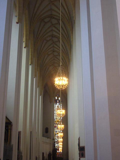 München - Frauenkirche -Seitenschiff