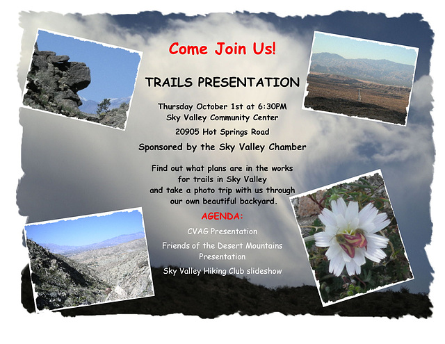 Sky Valley Trails Meeting