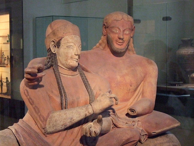 Sarcophage des Epoux, Italie