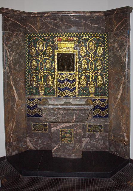 Brunnen im Foyer