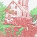 Le moulin Chittenden / Chittenden mills -  Jericho. Vermont . USA.  23-05-2009  -  Contours de couleur