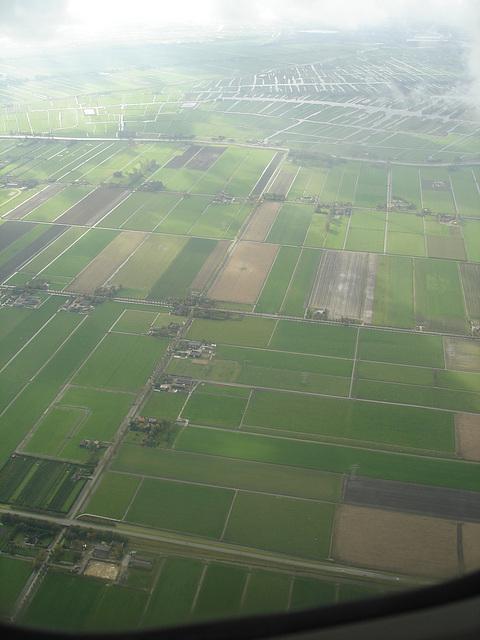 Vol / flight - Bruxelles / Brussels  - Amsterdam.  19 juillet 2008