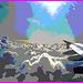Aile et nuages - Vol Air Transat Bruxelles-Montréal- 29 octobre 2008-  Postérisation