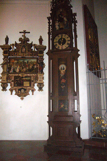 München - Frauenkirche - Automatenuhr