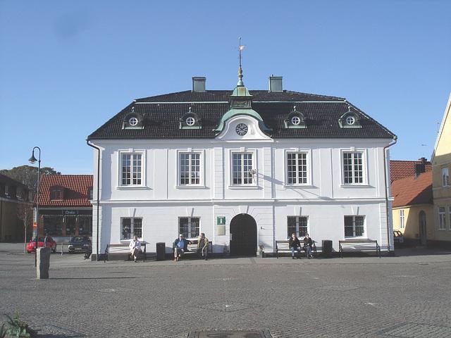 Tourist information building  /   Bureau d'information touristique .   Laholm  / Suède - Sweden.  25 octobre 2008