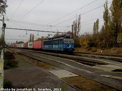 CD #363513-3 at Nadrazi Praha-Hostivar