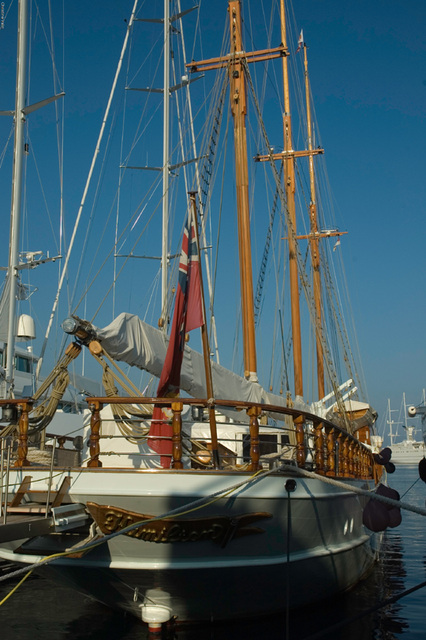 I liked this sailing boat the best!