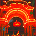 La citrouille d'Halloween Tivoli / Tivoli park pumpkin.  Copenhague.  19 octobre 2008.