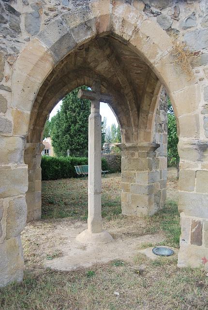11 octobre Croix du Chemin de Compostelle à Pieusse