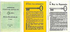 Clés de l'espéranto
