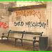 Agressive bench / Banc menaçant / Agressive bench