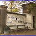 Agressive bench /  Banc menaçant - Copenhagen  / 20 octobre 2008.