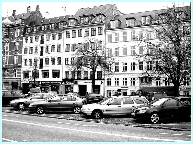 Bang & Olufs....en noir et blanc - In B & W / Copenhague.  20 octobre 2008