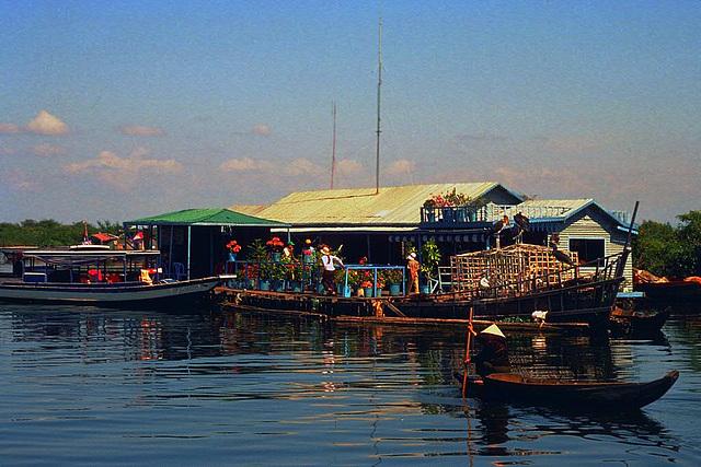Tonlé Sap the lifeline for millions people