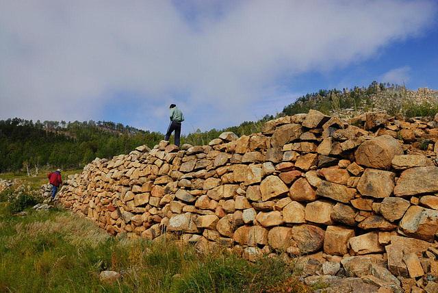 Oglogchiin Herem wall
