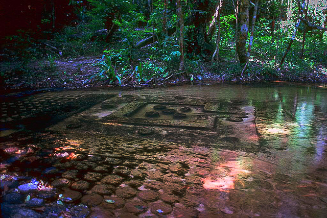 Holy Riverbed Carvings at Phnom Kulen