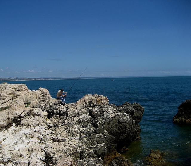 Oeiras, Maritime Walk, life is hard