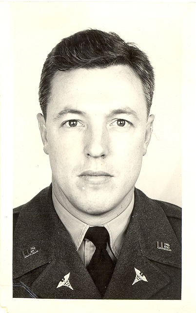 Horton's Army ID Photo, 1952