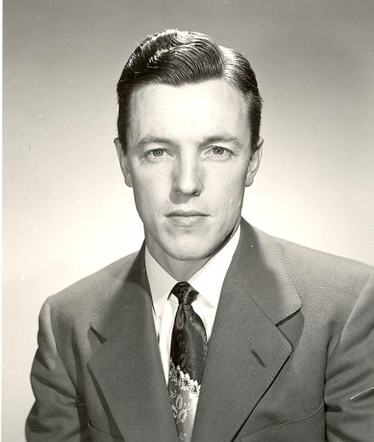 Mary's father, Horton, 1949