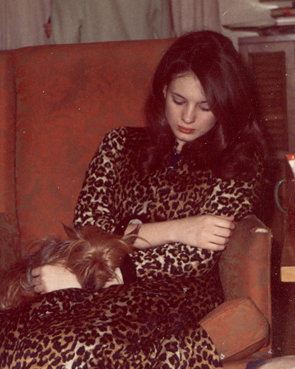 Mary and Cricket, Greenville, Dec. 1968
