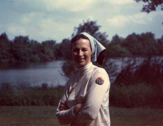 Betty at the Rod and Gun Club, Greenville, Illinois, 1967
