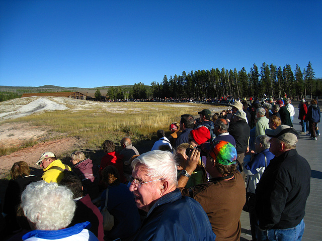 Crowd For Old Faithful (3999)