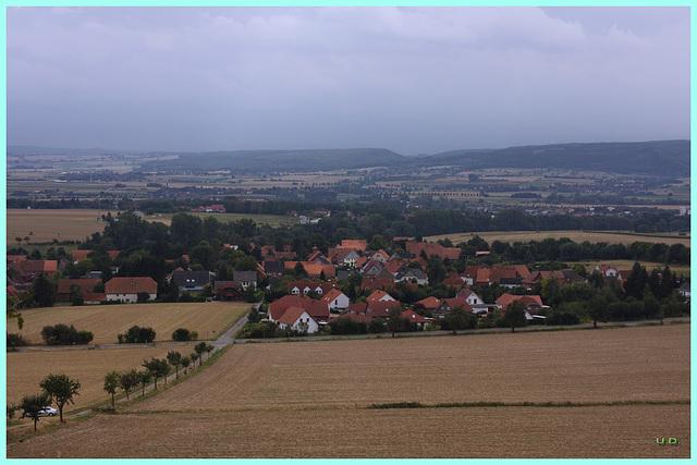 Segelhorst und das Wesertal