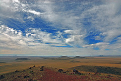 Other amazing panoramic view from the volcano peak