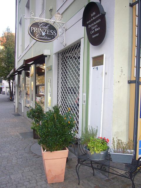 Regensburg - Prinzess Konditorei/Cafehaus