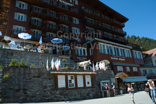 hotel at Murren