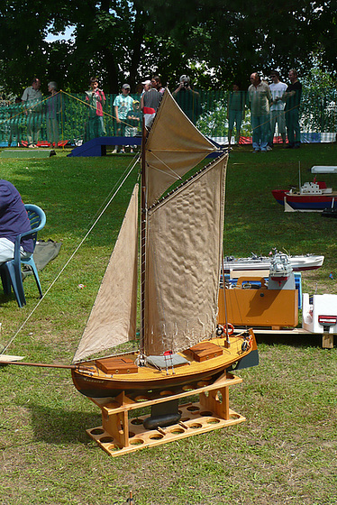 Weltmeisterschaft für originalgetreue Schiffsmodelle in Pirna - Copitz 31. Juli - 8. August 2009 1. Teil