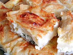 Börek (türk. Pastete)