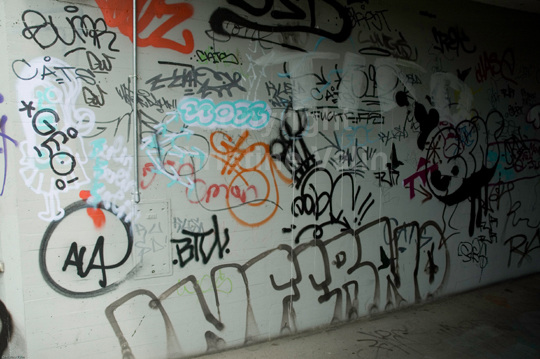 tags in the tunnel