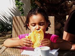 Rafaela, summer breakfast