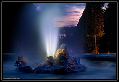 Le bassin de Bacchus / Bacchus fountain