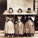 Tri punitaj inoj, Ĉinio, anonima foto, ĉirkaŭ 1875
