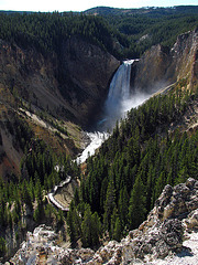 Yellowstone River Lower Falls (1651)