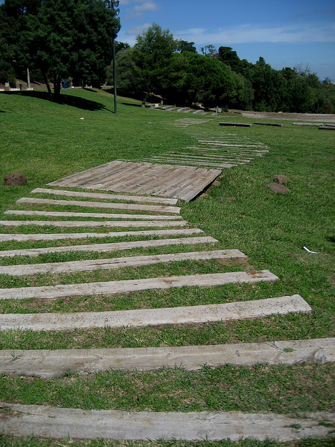 Lisboa, Park of Monsanto, Amphitheatre Keil do Amaral, access (3)