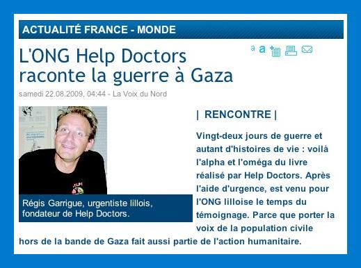 Gaza : Help Doctors raconte la guerre