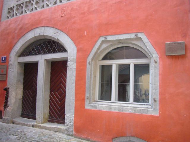 Regensburg - Roter Herzfleck