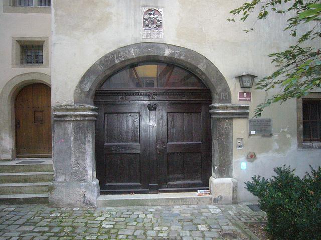 Regensburg - Nähe Roter Herzfleck