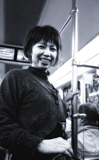Kayoko's smile