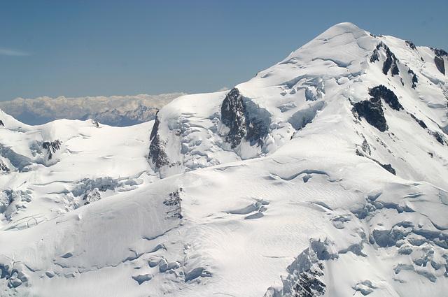 Mont Blanc vu d'avion