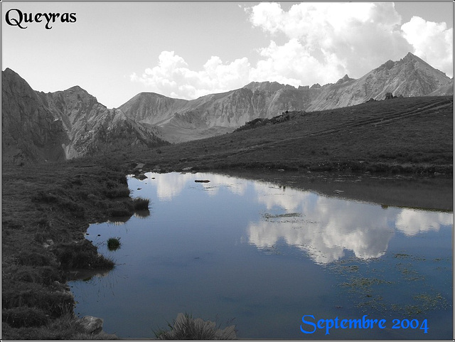 Plan d'eau Queyras