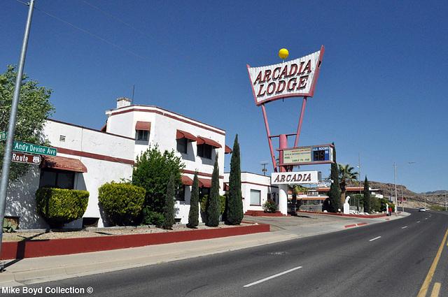 AZ motel arcadia lodge kingman 04'14