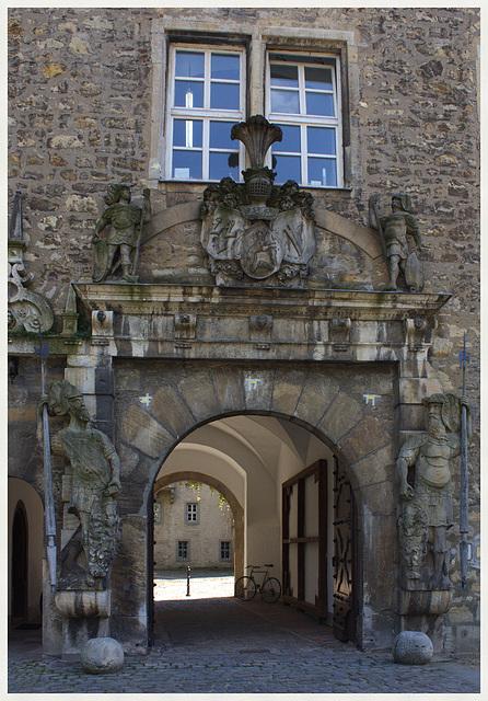 Hoftor zum Renaissanceschloss Wolfsburg