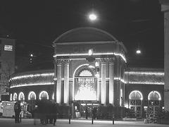 Le palais du cirque /  Circus Palace.   Copenhague / Copenhagen.  26-10-2008 -  N & B